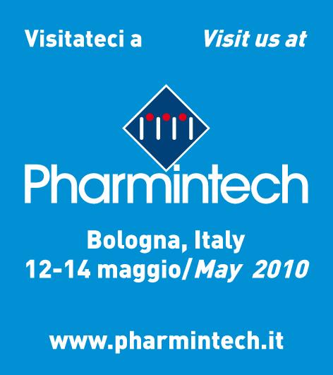 Pharmintech 2010 - 12-14 Maggio, Bologna